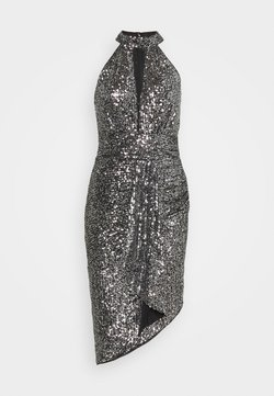 TFNC - HALONA DRESS - Juhlamekko - black/silver