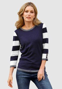 Laura Kent - Sweatshirt - marineblau,weiß