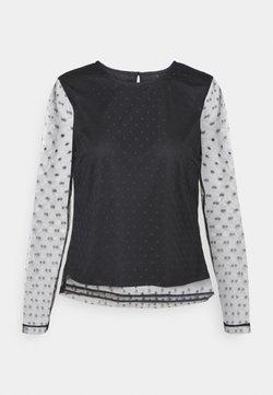 YAS Petite - YASLISSO O NECK - Camiseta de manga larga - black
