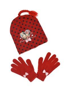 Mickey & Minnie - Fingerhandschuh - rot
