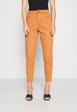 Esprit - MODERN TAPE - Straight leg -farkut - rust brown