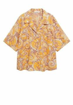 Mango - Hemdbluse - gelb