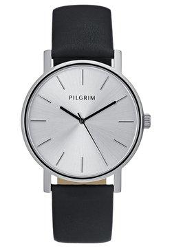 Pilgrim - Montre - silver-coloured/black
