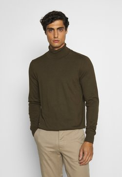 INDICODE JEANS - BURNS - Pullover - army
