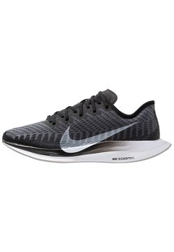 Nike Performance - ZOOM PEGASUS TURBO 2 - Neutrala löparskor - black/white/gunsmoke/atmosphere grey
