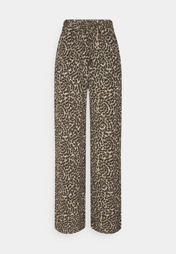 ONLY - ONLANNEMONE LONG PALAZZO PANT - Trousers - pumice stone