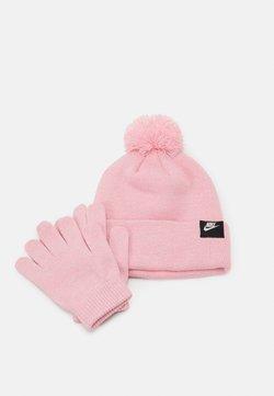 Nike Sportswear - FUTURA BEANIE GLOVE SET - Fingerhandschuh - pink