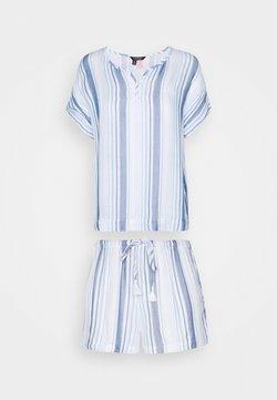 Lauren Ralph Lauren - BOXER SET - Pyjama - blue