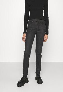 Levi's® - 724 HIGH RISE STRAIGHT - Straight leg jeans - black cloud