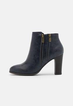 Wallis - ASUMA - High heeled ankle boots - navy