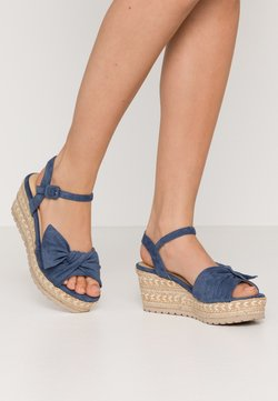 Refresh - Sandalen met plateauzool - jeans