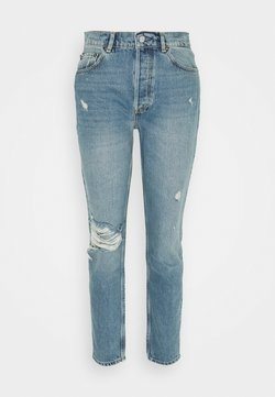 Boyish - BILLY HIGH RISE - Jeans Skinny Fit - blue denim
