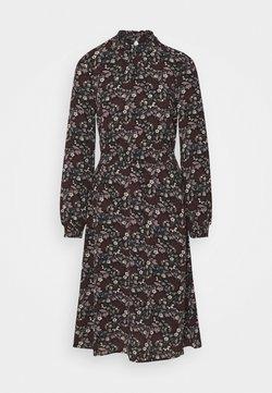 ONLY - ONLNOVA LUX SMOCK BELOW KNEE DRESS - Freizeitkleid - black