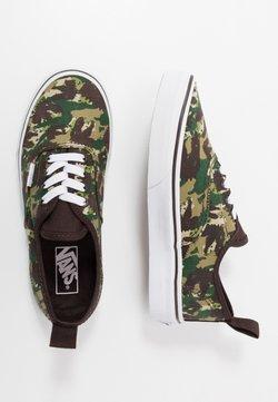 Vans - AUTHENTIC ELASTIC LACE UNISEX - Sneakers basse - brown/true white