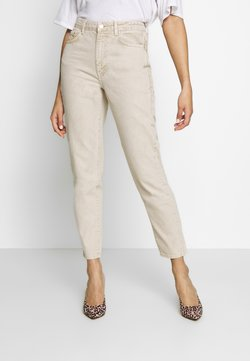 Gina Tricot - DAGNY HIGHWAIST - Jeans Relaxed Fit - vintage beige
