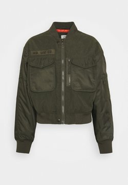 Lee - SATEEN  - Giubbotto Bomber - olive green