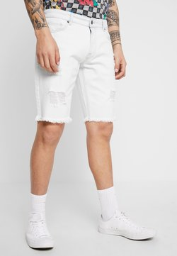 YOURTURN - Shorts di jeans - bleached denim