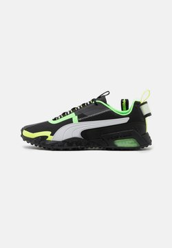 Puma - H.ST.20 KIT 2 UNISEX - Zapatillas de running neutras - black/white/elektro green