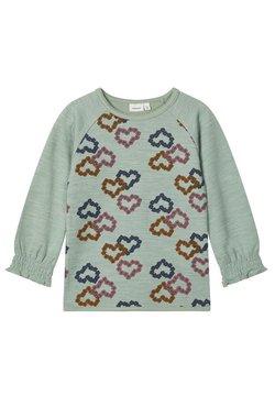 Name it - LONGSLEEVE MERINOWOLL BAUMWOLL - T-shirt print - green bay