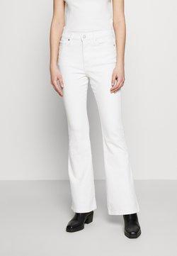 Banana Republic - FULL FLARE  - Bootcut jeans - white