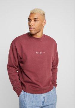 Mennace - ESSENTIAL BOXY UNISEX - Sweatshirt - burgundy