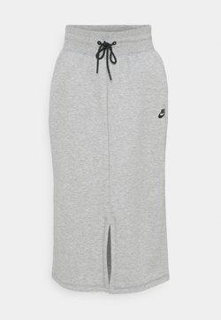 Nike Sportswear - SKIRT - Falda de tubo - dark grey heather/black
