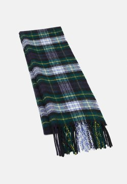 Johnstons of Elgin - 100% Cashmere Tartan Scarf - Szal - green/blue