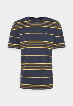 Brixton - HILT  - T-Shirt print - washed navy