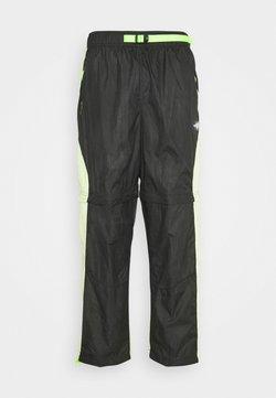 Jordan - TRACK PANT - Jogginghose - black/light liquid lime/electric green