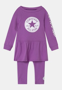Converse - SCRIPT LOGO SET - Leggings - Hosen - bright violet