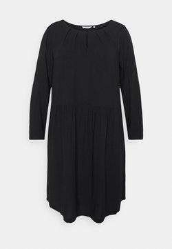 MY TRUE ME TOM TAILOR - DRESS BLOUSE STYLE - Day dress - deep black