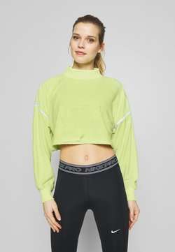 Nike Performance - CITY TRAIN  - Sweatshirt - barely volt/spruce aura