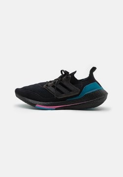 adidas Performance - ULTRABOOST 21 - Laufschuh Neutral - core black/carboctive teal