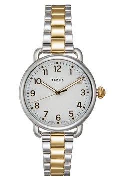 Timex - WOMEN'S STANDARD - Montre - silver-coloured/gold-coloured