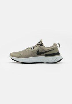 Nike Performance - REACT MILER - Zapatillas de running neutras - light army/black/photon dust