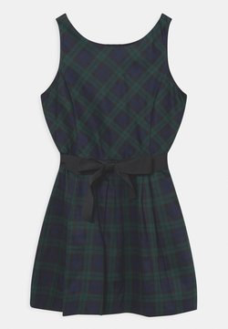 Polo Ralph Lauren - FIT DAY DRESS - Cocktailklänning - green/dark blue