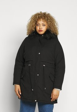 New Look Curves - LI HOODED - Parka - black