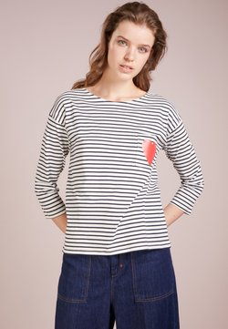 CHINTI & PARKER - HEART POCKET TEE - Langarmshirt - cream