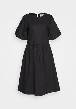 esmé studios - JANA MIDI DRESS - Korte jurk - black