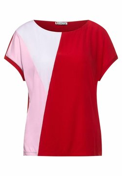 Street One - T-Shirt print - rot