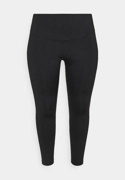 Nike Performance - RUN 7/8 PLUS - Legging - black/silver