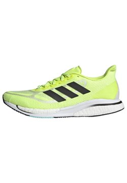 adidas Performance - SUPERNOVA + BOOST BOUNCE PRIMEGREEN RUNNING REGULAR SHOES - Zapatillas de running estables - yellow