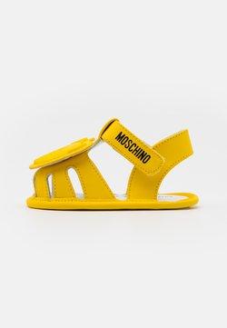 MOSCHINO - UNISEX - Krabbelschuh - yellow