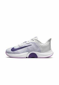 Nike Performance - COURT AIR ZOOM TURBO - All court tennisskor - photon dust/fuchsia glow/white/court purple