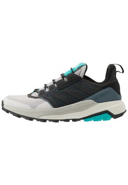 adidas Performance - adidas TERREX TRAILMAKER WANDERSCHUHE - Outdoorschoenen - grey two/core black/hi res aqua