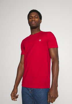 Marc O'Polo - SHORT SLEEVE - T-Shirt basic - scarlet