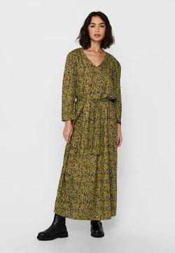 JDY - Vestido largo - green moss