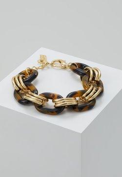 sweet deluxe - FERMENA - Bracelet - gold-coloured/brown