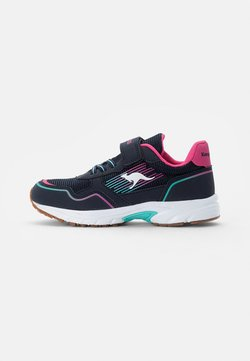 KangaROOS - REMI - Sneakers - dark navy/daisy pink