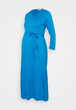 MAMALICIOUS - MLSIMANTHA MIDI DRESS - Vestito di maglina - blue aster